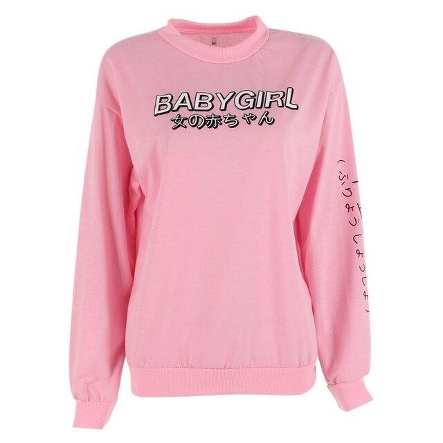 3ec0b4aee ROPALIA New Kawaii Autumn Women Hoodies Japanese Harajuku Sweatshirt ...