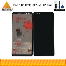 "6.0""Original Axisinternational  For HTC U12+/U12 Plus LCD Display Screen+Touch Panel Digitizer For 2880*1440 U12 Plus Display"