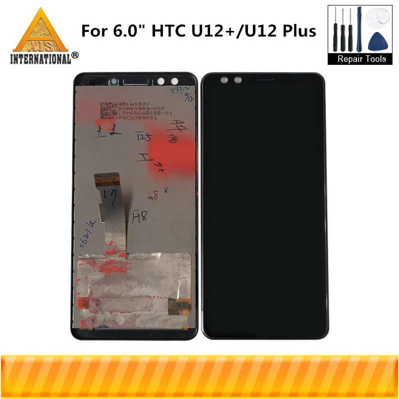 """Originele Axisinternational Voor 6.0 """"HTC U12 +/U12 Plus Lcd scherm + Touch Panel Digitizer Voor 2880*1440 U12 Plus Display-in LCD's voor mobiele telefoons van Mobiele telefoons & telecommunicatie op AliExpress - 11.11_Dubbel 11Vrijgezellendag 1"""