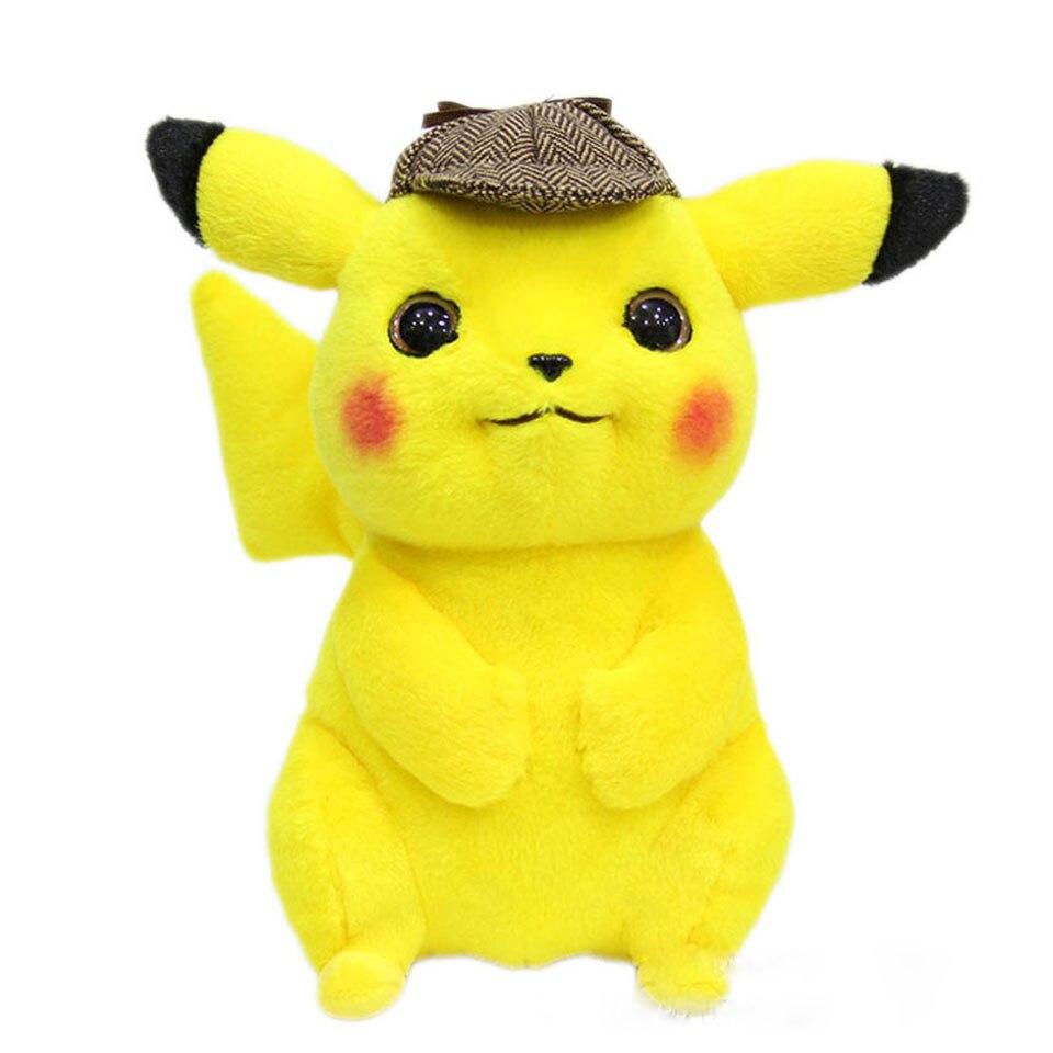 Jouets Picachu en Peluche Dective 28 cm jouets en Peluche Pokemon Juguetes enfants cadeaux d'anime de dessin animé d'anniversaire