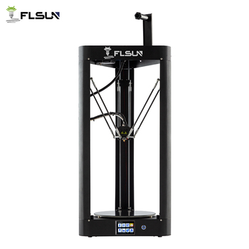 2019 3D Printer Flsun QQ-S Auto Leveling Pre-assembly Titan Touch Screen Lattice HeatBed 32bitsboad Ship from United States 1