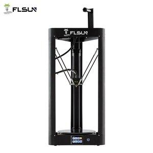 Image 2 - 2020 3D Máy In Flsun QQ PRO Tự Động San Bằng Tiền Hội Titan Cảm Ứng Màn Hình Lưới HeatBed 32Bitsboad