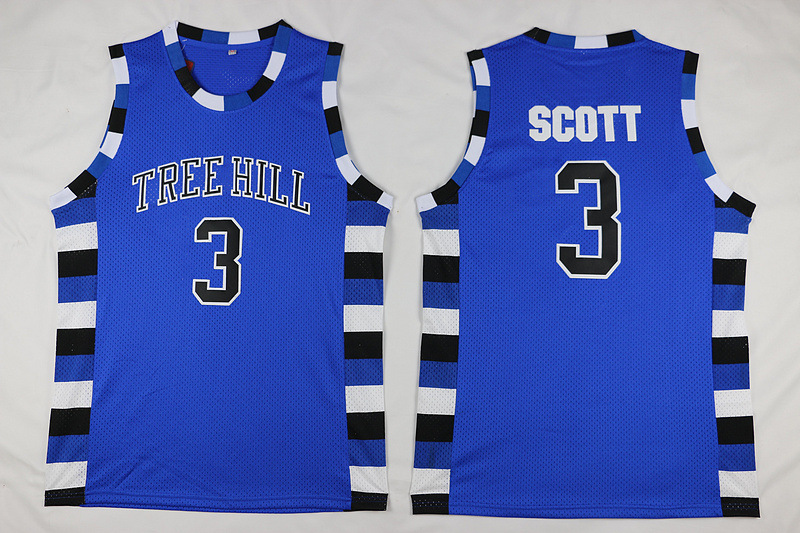 cc0d146b4912 Detail Feedback Questions about One Tree Hill Throwback Sleeveless Tank Top  3 Lucas Scott 23 Nathan Scott Ravens Movie Embroidery Basketballs Style  Jersey ...