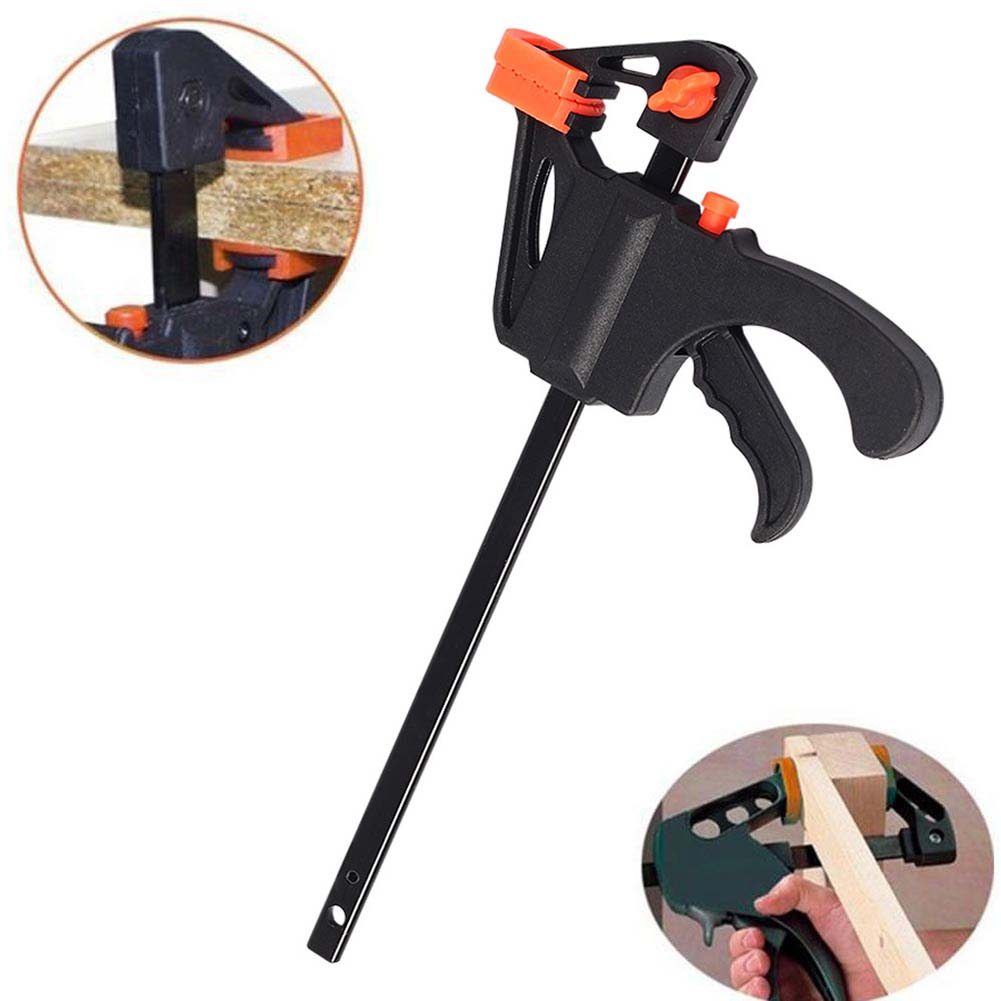 us $2.59 24% off|quick fast woodworking clip wooden board tool spreader  squeeze work bar clamp @8 jdh99-in clamps from home improvement on
