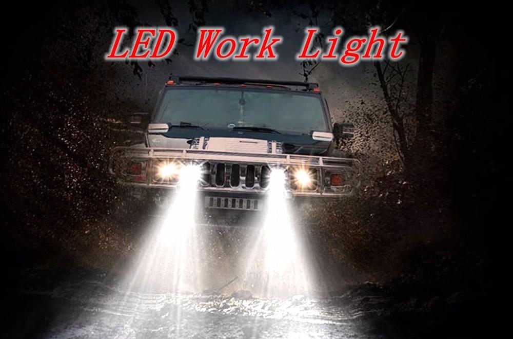 4WD luz coche carretera 4
