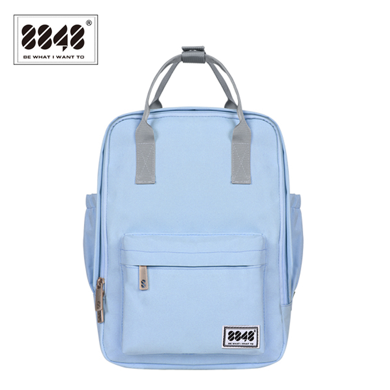 8848 Backpack Women Knapsack Casual Travel Shopping School BagPreppy Trenty Fashion Style Resistant Oxford Material 003-008-002