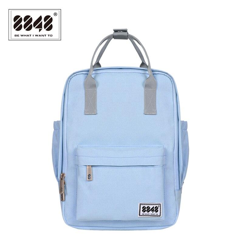 8848 패션 여성 배낭 틴 에이저 여성 학교 숄더 백에 대 한 높은 품질 청소년 캔버스 배낭 새로운 Bagpack mochila 002