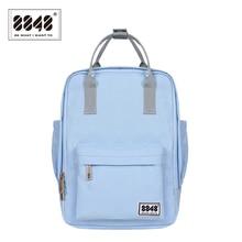 8848 Fashion Women Backpack High Quality Youth Canvas Backpacks for Teenager Female School Shoulder Bag New Bagpack mochila 002 недорго, оригинальная цена