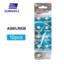 цена на 10pcs AG9 394 SR936SW LR936 SR936 194 LR45 L936 1.55V Alkaline Button Cell Coin Battery batteries for Watch