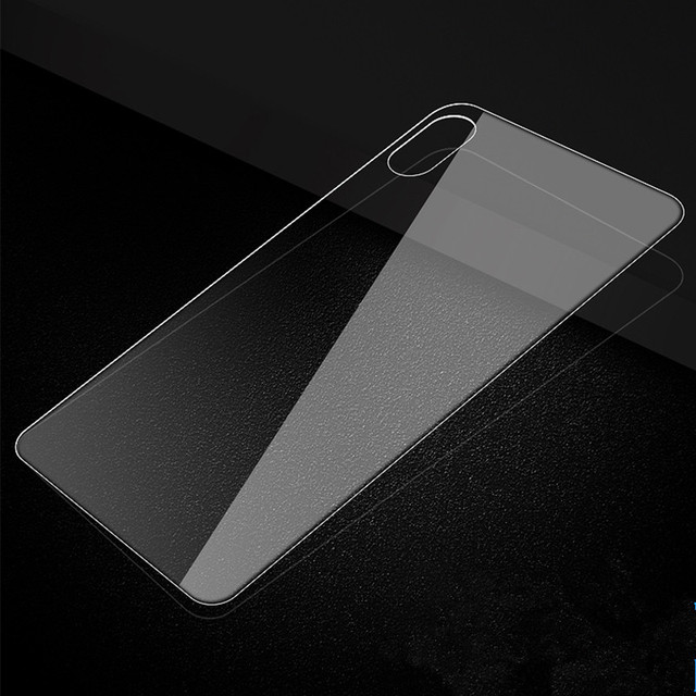 Front and Back Tempered Glass Screen Protector for iPhone