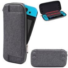 Nintend Schalter Harte Tasche Shell Lagerung Reise Carry Pouch für Nintendos Schalter NS Console Schützende Grau Taschen Pack Halter