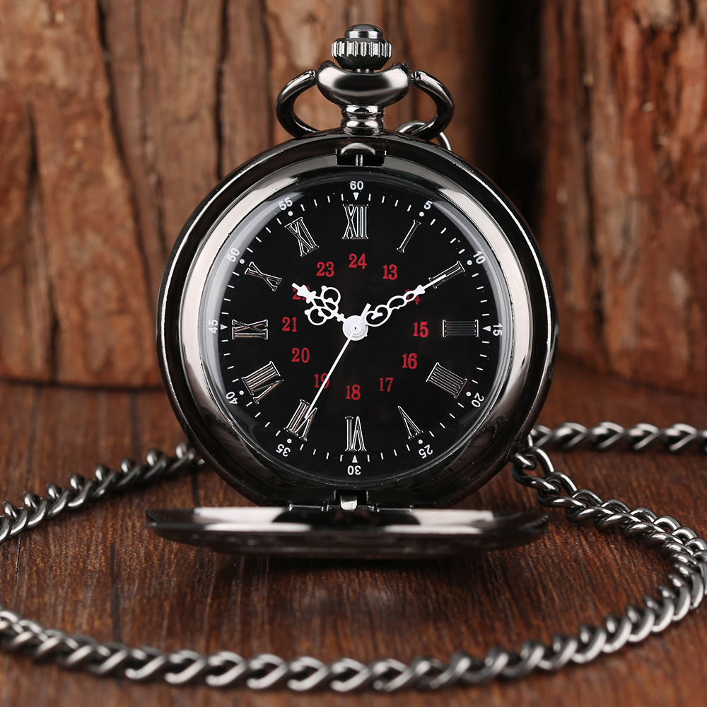 Vintage Pocket Watch Quartz Watches Chain Set Necklace Pendant Gifts Box Bag Men Women Gifts Relogio De Bolso Black 2018 New 409426 001 for proliant ml370 g5 cpu heatsink well tested with three months warranty page 8