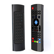 FGHGF MX3 2.4G 무선 키보드 컨트롤러 원격 제어 에어 마우스 스마트 안 드 로이드 7.1 TV 상자 x96 미니 s905w tx3 tvbox