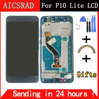 LCD For HUAWEI P10 Lite Display Touch Screen Digitizer For Huawei P10 Lite LCD Screen With