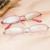 Pure titanium óculos de armação mulher vidros ópticos luneta femme designs8080 ultraleve negócio óculos de armações de óculos de ouro