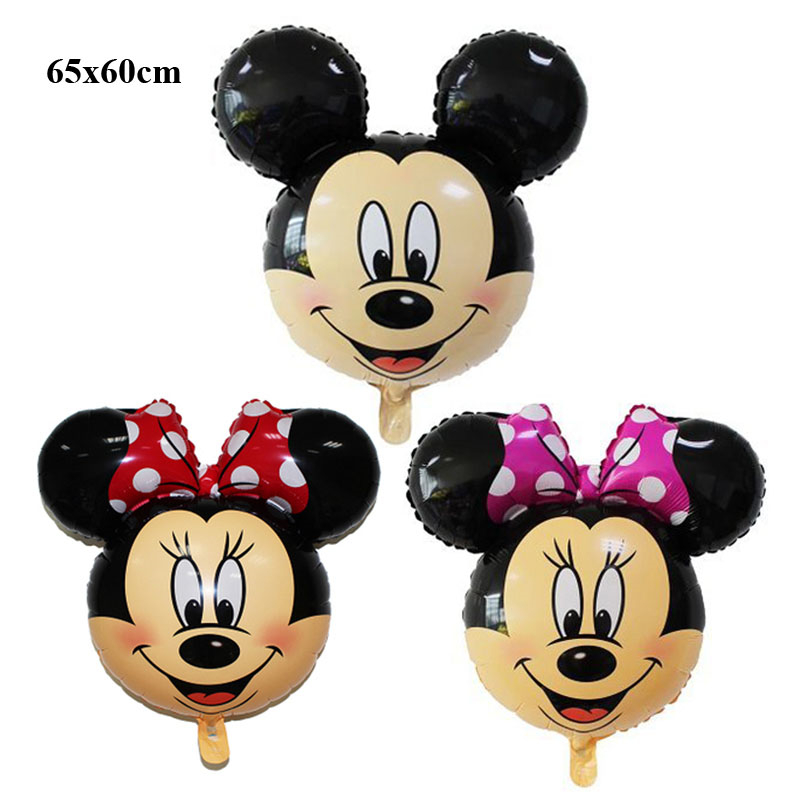 classic toys air balloons birthday wedding party decoration mickey balloons  helium mickey decoration foil balloons