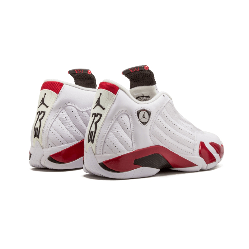 Original Authentic NIKE Air Jordan 14 Retro Men's Basketball Shoes Sport Outdoor Sneakers Medium Cut Lace-Up Good Quality 487471 70