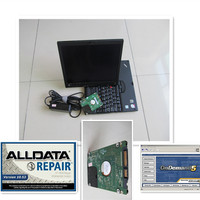 alldata 10.53 repair program and mithcell auto repair software 2015 in touch screen laptop x201t with 1000gb harddisk