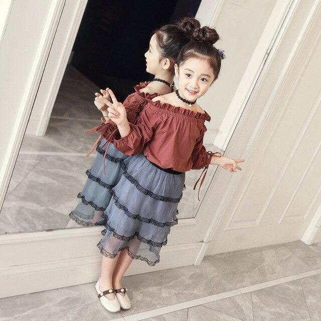 Kleding Fashion.Summer Children Clothing Set 2018 New Fashion Clothes For Girls 5 6