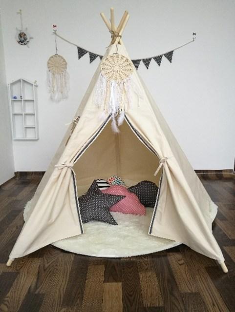 Outdoor Indoor Large Kids Princess Tent Net Children Canvas Pretend Play Tipi Adult Canopies Home Bedroom & Aliexpress.com : Buy Outdoor Indoor Large Kids Princess Tent Net ...