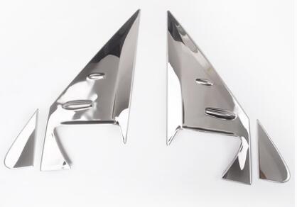 Revêtement d'habillage triangle de fenêtre de vue arrière pour Toyota Land Cruiser 200 LC200 Prado LC150 accessoires 08-17