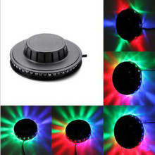 black white Sunflower LED Light Magic 7 Colors 48 LEDs auto Voice Activated LED RGB Stage