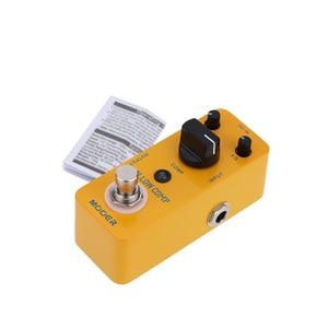 Image 3 - Mooer yellow comp マイクロミニ光学コンプレッサー効果ペダルエレキギター用トゥルーバイパス
