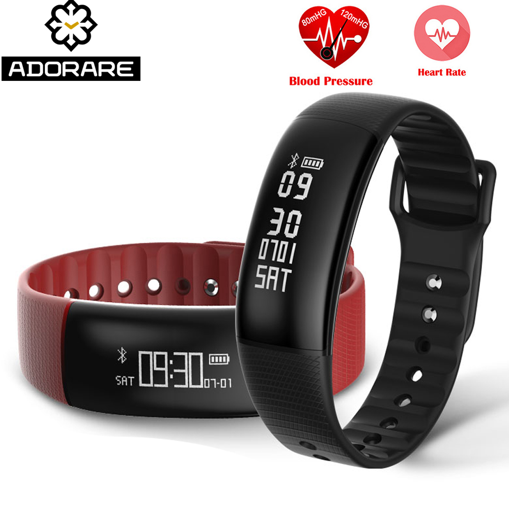 ADORARE S69 GPS Smart Watch Women Heart Rate Monitor Sports Digital Smartwatch Men Fitness Tracker Wristwatch for IOS Android цена