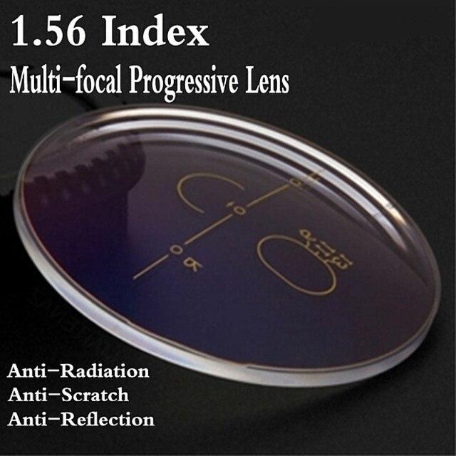 Lentille de Prescription Progressive multi-focale   Lentille bleue rayon/anti-UV, lentille bricolage de diopie, myopie, hyperopie presbytes