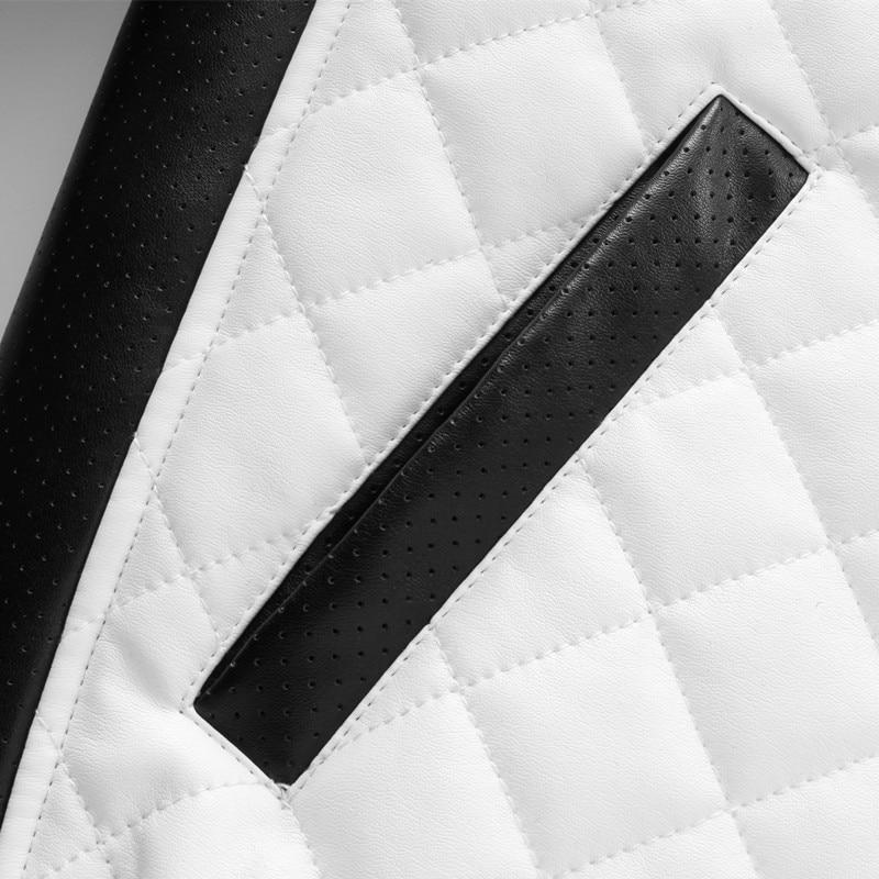 2017 kış erkek fermuar tasarım deri Panka Ceket erkekler İnce PU - Erkek Giyim - Fotoğraf 4