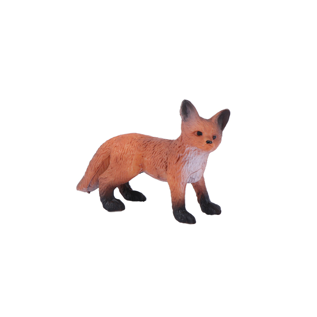 Mini Simulation Red Fox Models Home Garden Statues Ornaments Figurine Decoration For Forest Style Home Decor Accessories 5