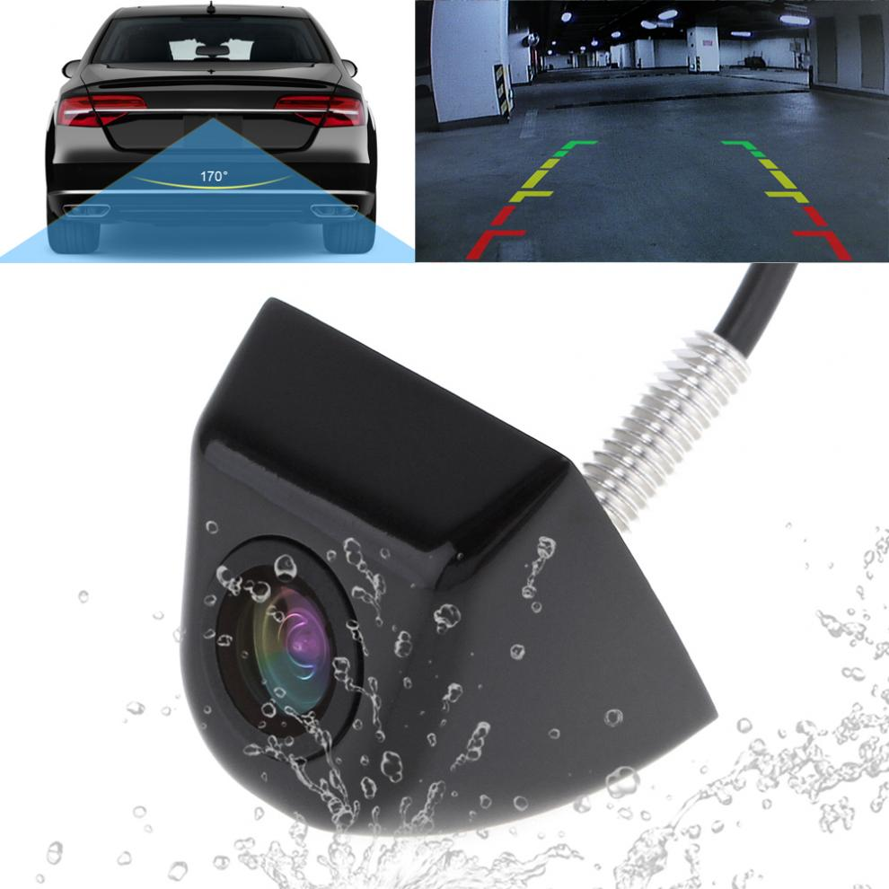 Car Auto  Reverse Parking Rear View Backup 170° Wide Angle Night Vision Camera
