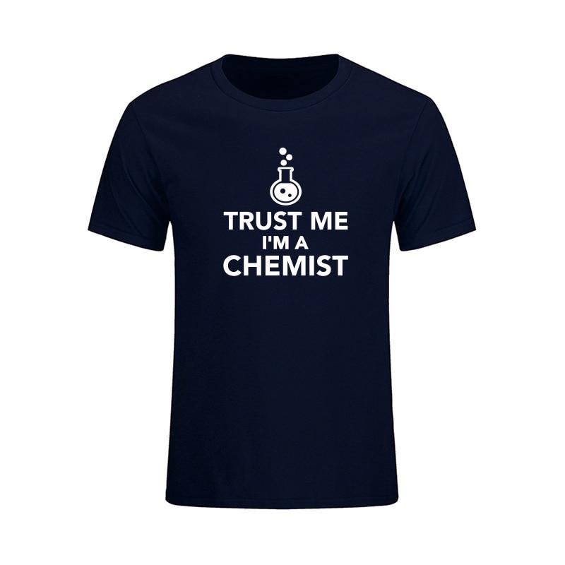 Poletje Novi prihod Zaupajte mi, da sem kemična moška majica, - Moška oblačila - Fotografija 4