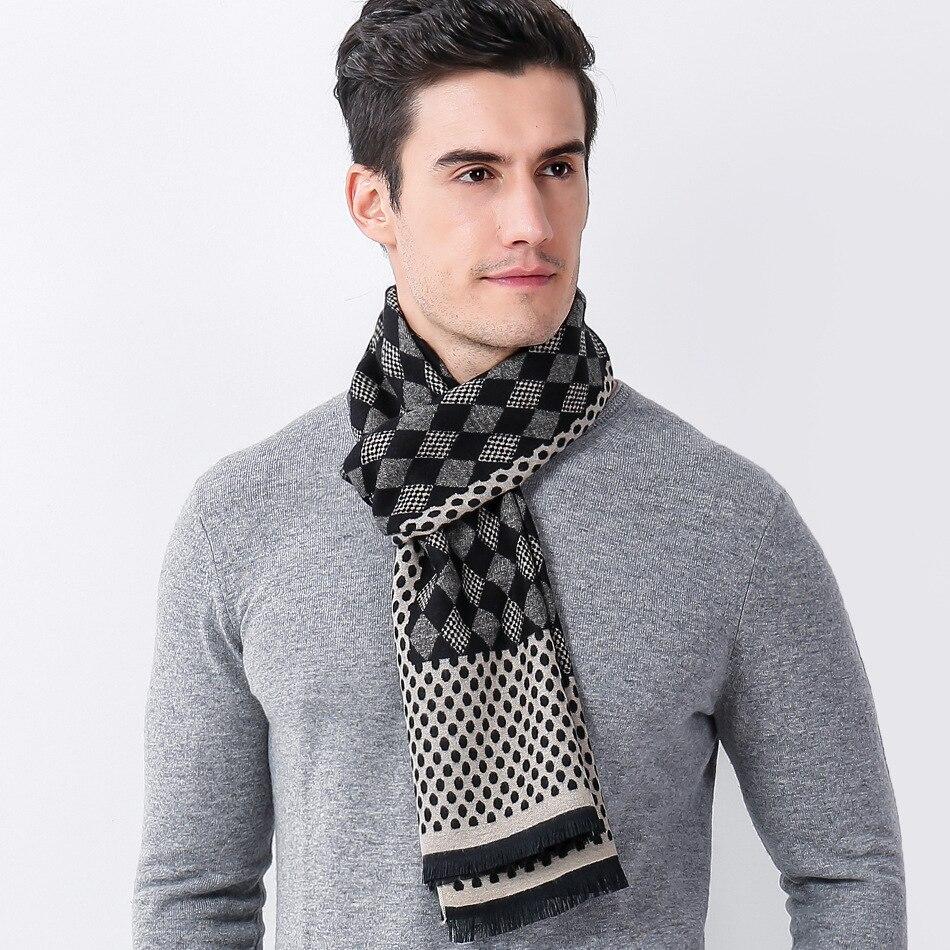 Dankeyisi moda bufanda de invierno hombres bufanda larga de punto ...