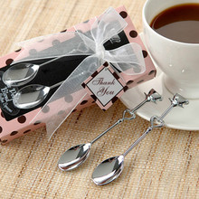 Practical Stainless Steel Couple Coffee Spoons Creative Small Wedding Gifts