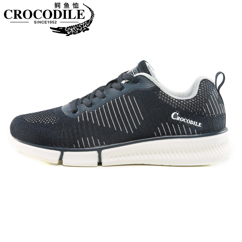 Crocodile Air Mesh Men Running Sneaker Shoes Male Training Sport Shoes for Men Athletic Jogging Trainer