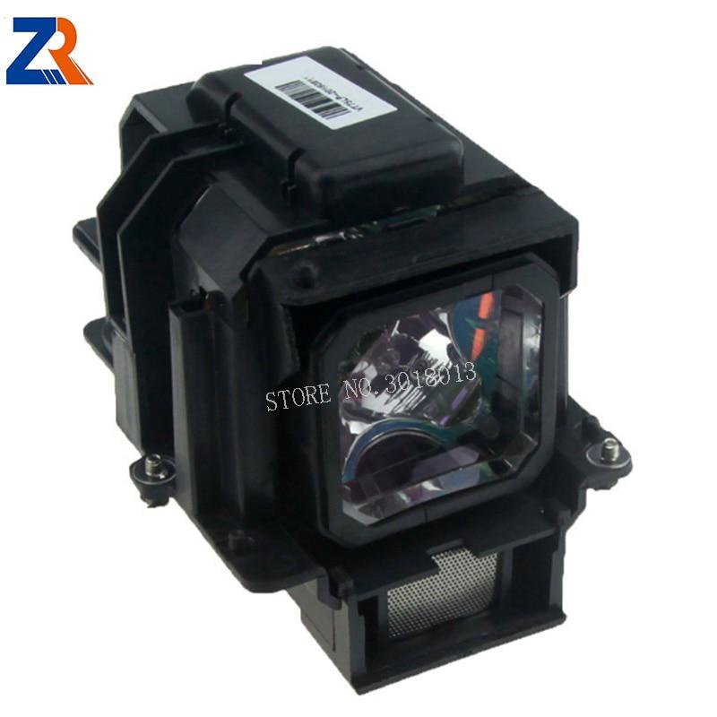 ZR 100% New Compatible Projector Lamp With Housing Modle VT70LP For VT37 VT47 VT570 VT575 VT70 Projectors Free Shipping compatible projector lamp vt70lp bulb for vt37 vt47 vt570