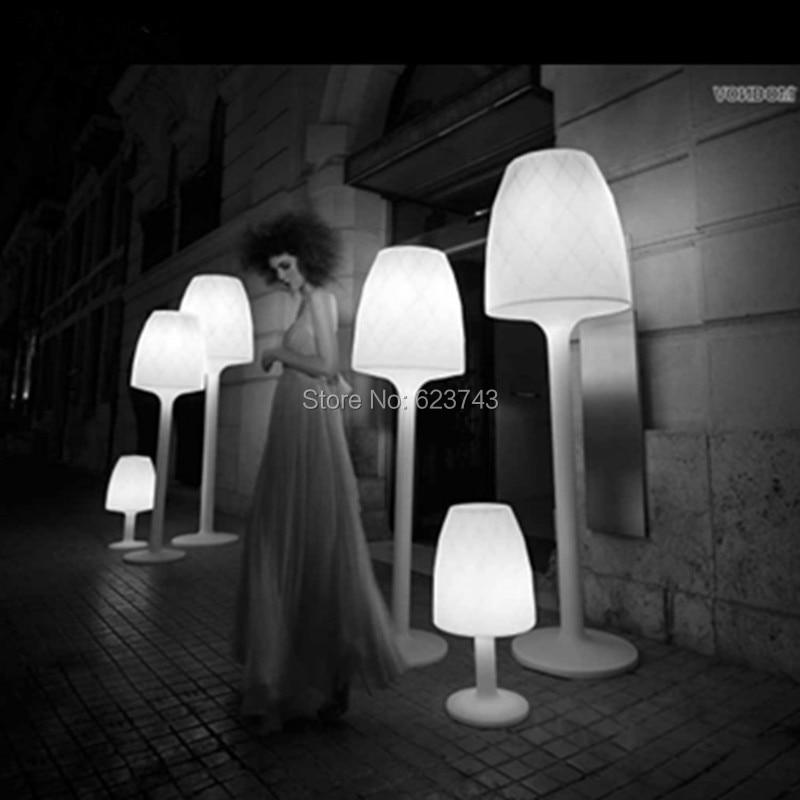 LED Glowing Floor landscape lighting 6