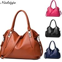 Brand Women's Handbag Shoulder Bag Soft pu Leather Crossbody Bags for Women High Quality Messenger Bag Sac A Main