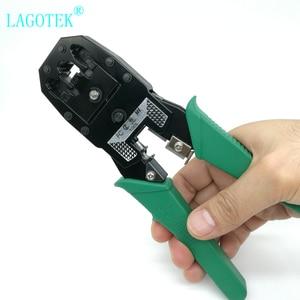 Image 3 - Professional  RJ45 RJ11 RJ12 CAT5 CAT5e CAT6 Portable LAN Network Repair Tool Kit Utp Cable Tester AND Plier Crimp Crimper Plug