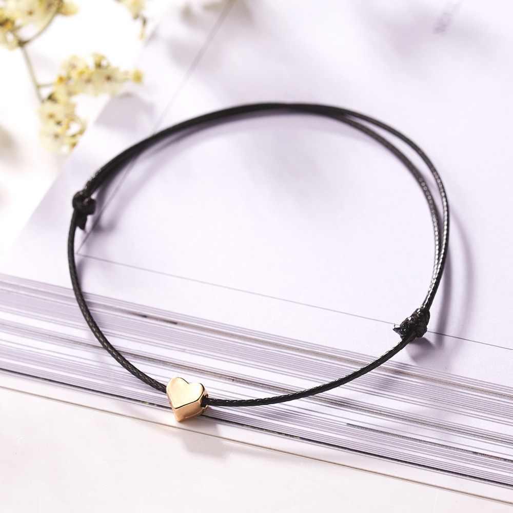 10*7.5 Cm Membuat Keinginan Papper Kartu Cinta Anyaman Disesuaikan Gelang Fashion Perhiasan Hadiah untuk Wanita pria, Anak-anak