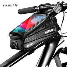 Bike Bag 6.5 Phone Rainproof Top Tube Road Waterproof Reflective Touchscreen Case Cycling Bicycle bag Accessories 4