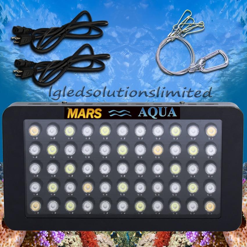 Mars Aqua 165W Dimmable Led Aquarium Lights for Coral Reef , Full Spectrum Aquarium Led Lighting