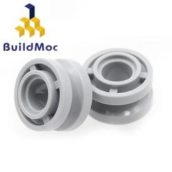 BuildMOC Compatible Assembles Particles 42610 Wheel for Building Blocks DIY Educational High-Tech Spare Toys