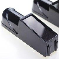 1 pair 433mhz Wireless Solar IR Sensor Perimeter Alarm System Set photoelectric Infrared Beam Detector