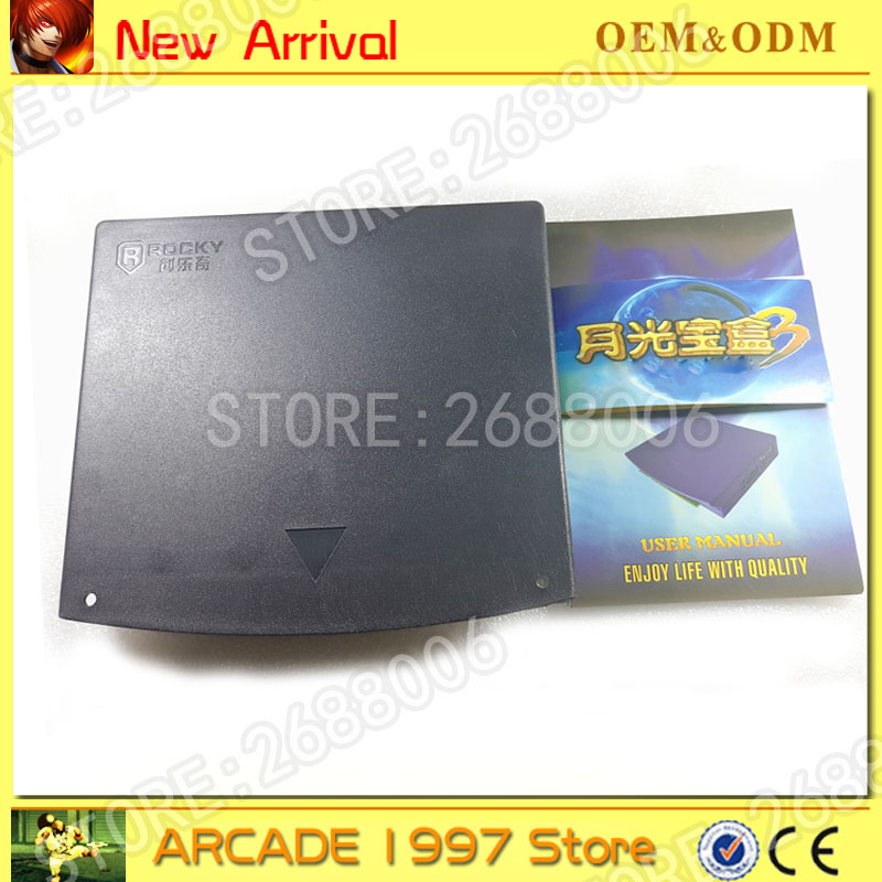 Pandora 520 in 1 game pcb board box 3 jamma arcade multi game card cga vga output for crt lcd monitor DIY arcade game kit parts new arrival 680 in 1 multi games jamma cga vga output for lcd cga monitor arcade cabinet pcb