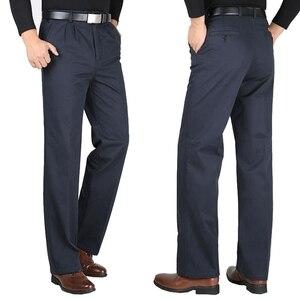 Image 4 - Kış sonbahar erkek pantolon polar sıcak 6XL 7XL 8XL 9XL 10XL büyük boy büyük boy elbise günlük giysi pantolon haki iş