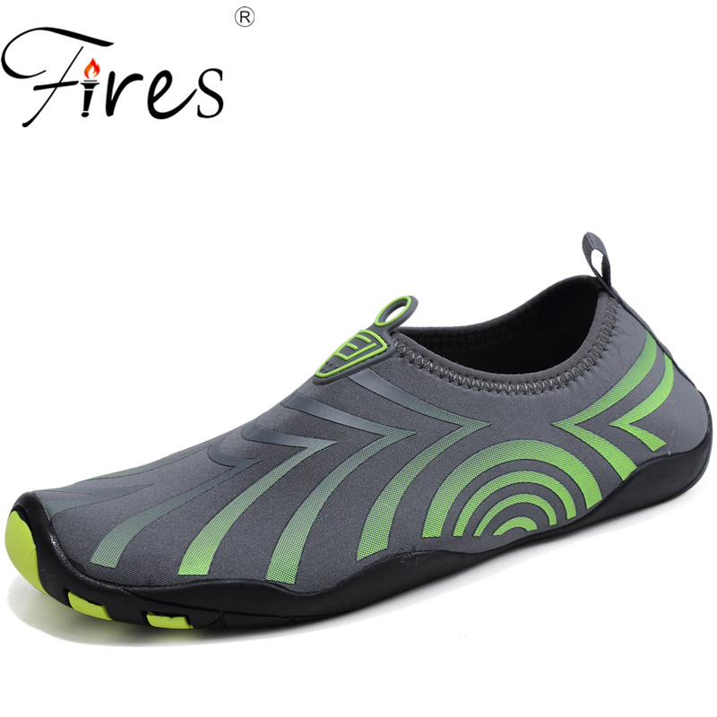 Fires Men Swimming Sneakers Comfortable Sport Shoes Oversize 39-46 Aqua Shoes Mans Summe ...