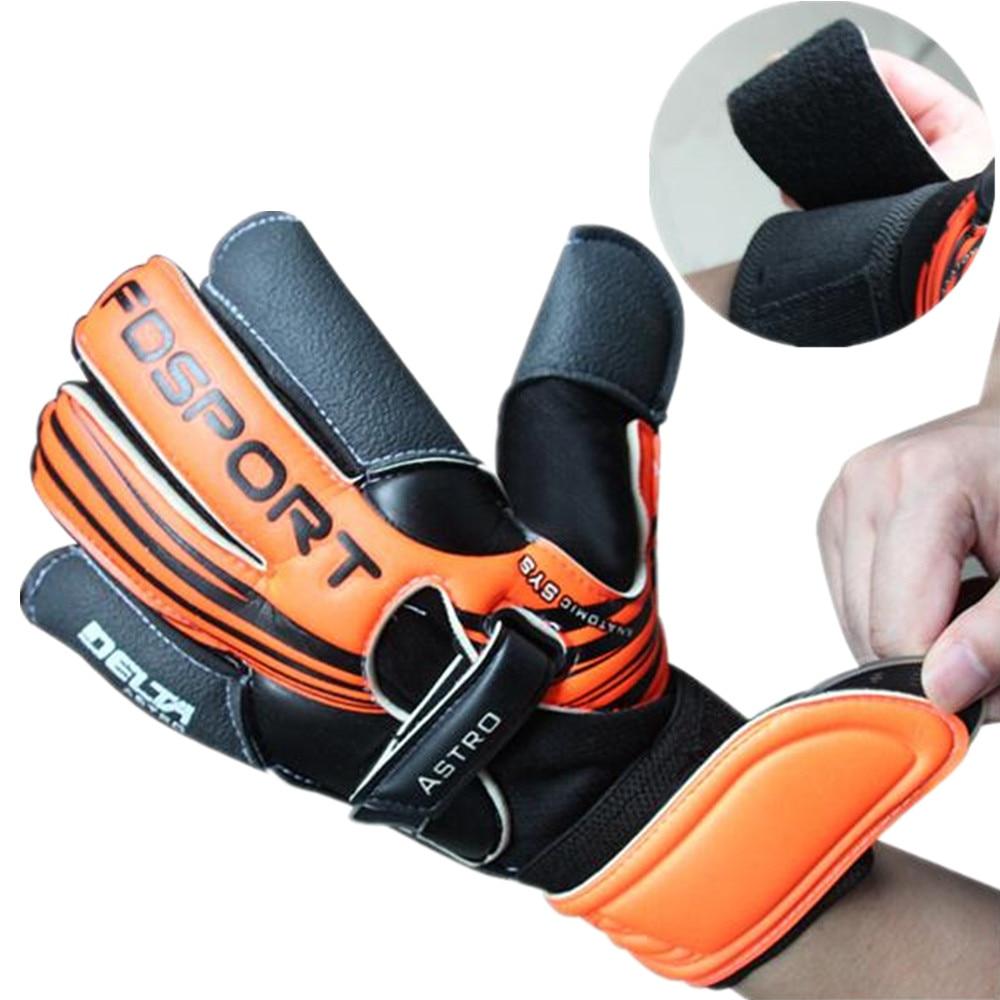 2019 High density professional thicken 3mm Natural latex Non slip soccer gloves Men goalkeeper glove football