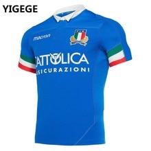 7831501aae1 YIGEGE 2019 ITALIA home away Rugby Jerseys FIR shirt Italy national team  League jersey S-